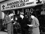 The Lost Weekend, Ray Milland, Lester Sharpe, Bertram Warburgh, 1945 Photo