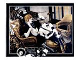 Foolish Wives, Miss Dupont, Erich Von Stroheim, 1922 Photo