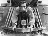 The General, Buster Keaton, 1927, Train Fotografía