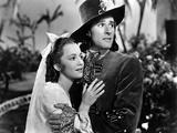 Captain Blood, Olivia De Havilland, Errol Flynn, 1935 Photo