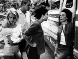 Night Of The Iguana, Sue Lyon, Ava Gardner, James Ward, Grayson Hall, 1964 Photo