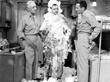 Mister Roberts, William Powell, Jack Lemmon, Henry Fonda, 1955 Foto
