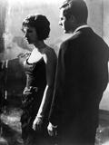 La Notte, Monica Vitti, Marcello Mastroianni, 1961 Photo