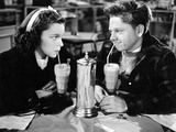Love Finds Andy Hardy, Judy Garland, Mickey Rooney, 1938 Photo
