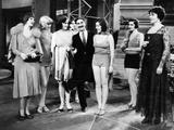 Animal Crackers, Margaret Irving, Groucho Marx, Margaret Dumont, 1930 Foto