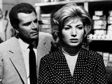 L'Avventura, Gabriele Ferzetti, Monica Vitti, 1960 Fotografia