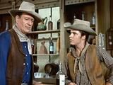 Rio Bravo, John Wayne, Ricky Nelson, 1959 Photo