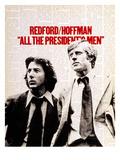 Todos os Homens do Presidente, Dustin Hoffman, Robert Redford, 1976 Fotografia