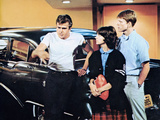 American Graffiti, Paul Le Mat, Cindy Williams, Ron Howard, 1973 Photo