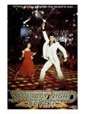 Saturday Night Fever, Karen Lynn Gorney, John Travolta, 1977 Fotografía