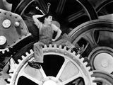 Modern Times, Charlie Chaplin, 1936 Foto