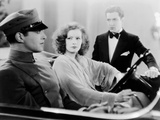 A Woman Of Affairs, Douglas Fairbanks Jr., Greta Garbo, Johnny Mack Brown, 1928 Photo
