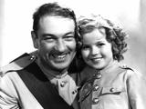 Wee Willie Winkie, Victor McLaglen, Shirley Temple, 1937 Photo