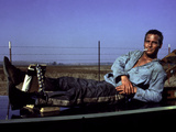 Cool Hand Luke, Paul Newman, 1967, Leg Irons Photo