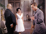 Cat on a Hot Tin Roof, Burl Ives, Elizabeth Taylor, Paul Newman, 1958 Fotografia