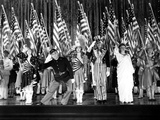 Yankee Doodle Dandy, Jeanne Cagney, James Cagney, Joan Leslie, Walter Huston, Rosemary Decamp, 1942 写真