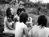 Woodstock, Festival Goers, 1970 Foto