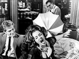 Who's Afraid Of Virginia Woolf, George Segal, Elizabeth Taylor, Richard Burton, 1966 Fotografia