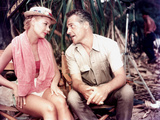 South Pacific, Mitzi Gaynor, Rossano Brazzi On Set, 1958 写真