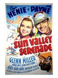 Sun Valley Serenade, Sonja Henie, John Payne, Glenn Miller, 1941 Photo