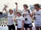 Breaking Away, Dennis Christopher, Jackie Earle Haley, Daniel Stern, Dennis Quaid, 1979 Photo