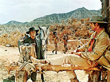 Once Upon A Time In The West, Henry Fonda, Charles Bronson, 1969 Photographie