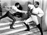 The Mark Of Zorro, Tyrone Power, Basil Rathbone, 1940 Foto