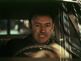 The French Connection, Gene Hackman, 1971, In The Famous Car Chase Scene Foto