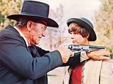 True Grit, John Wayne, Kim Darby, 1969 Foto
