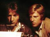 All The President's Men, Robert Redford, Dustin Hoffman, 1976 Foto