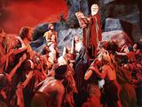 The Ten Commandments, John Derek, Debra Paget, Yvonne De Carlo, Charlton Heston, 1956 Foto