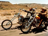 Easy Rider, Peter Fonda, Dennis Hopper, 1969 Photographie