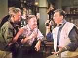 Hatari!, Hardy Kruger, Red Buttons, John Wayne, 1962 Foto