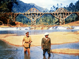 The Bridge On The River Kwai, Alec Guinness, Sessue Hayakawa, 1957 Foto