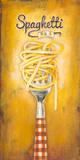 Spaghetti Poster von Elisa Raimondi