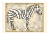 Royal Zebra Posters by Chariklia Zarris