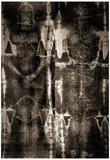 Shroud of Turin Full Image Plakat