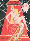 1925 Moulin Rouge programme ça c'est paris Giclée-Druck von Edouard Halouze