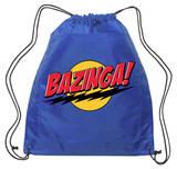 Big Bang Theory - Bazinga Backsack (blue) Drawstring Bag