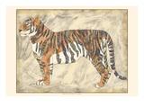 Royal Tiger Art by Chariklia Zarris