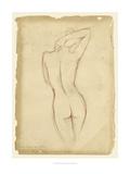 Antique Figure Study I Reproduction giclée Premium par Ethan Harper