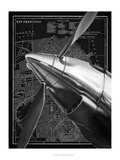 Vintage Plane II Poster by Ethan Harper
