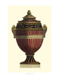 Empire Urn I Print by  Vision Studio