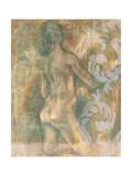 Figurative Carvings II Premium Giclee Print by Jennifer Goldberger