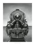 Vintage Train Kunstdrucke von Ethan Harper