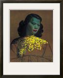 Menina chinesa Impressão giclée emoldurada por Vladimir Tretchikoff