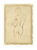 Antique Figure Study II Reproduction giclée Premium par Ethan Harper