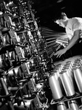 Manufacture of Cordura Rayon at DuPont Foto