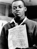 African American Youth Protests the Police Killing of Leonard Deadwyler Photo