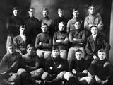 1910 Abilene High School Football Team, on Which President Dwight Eisenhower Played Foto